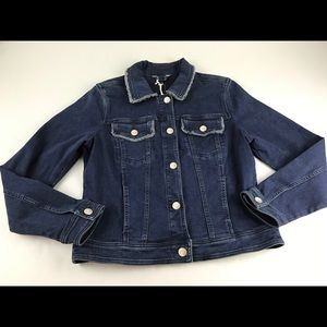 Tommy Bahama Denim Jean Jacket Women Medium M